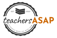 TeachersASAP – Substitute Teaching Resources Logo